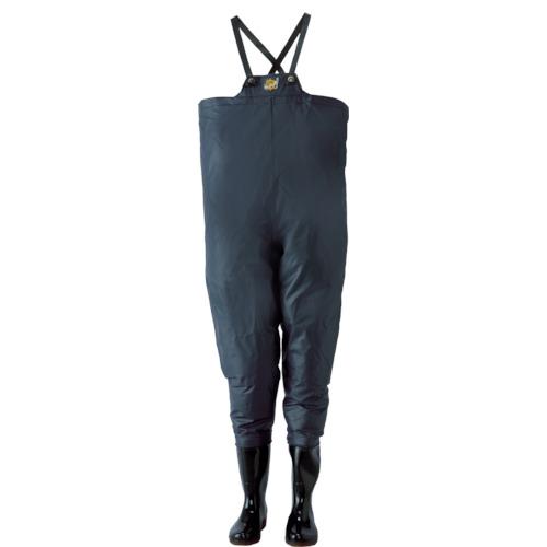 ロゴス クレモナ水産 胴付き長靴 鉄紺 25.5cm 10068255