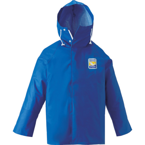 ロゴス マリンエクセル パーカー ブルー M 12030153