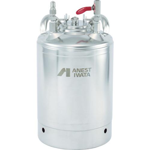 【直送品】アネスト岩田 食液専用加圧タンク(ベッセル型) 10リットル FOT-100