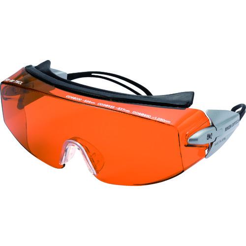 リケン レーザー用一眼型保護メガネ(多波長兼用)メガネ併用可 RS-80 TWCL