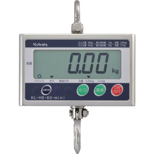 【直送品】クボタ フックスケールミニ300kg(検定無) KL-HS-300-MINI