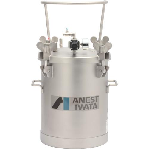 【直送品】アネスト岩田 ステンレス加圧タンク 攪拌器不含仕様 10L COT-10