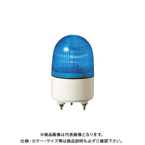 パトライト 小型LED表示灯 色:青 PES-100A-B