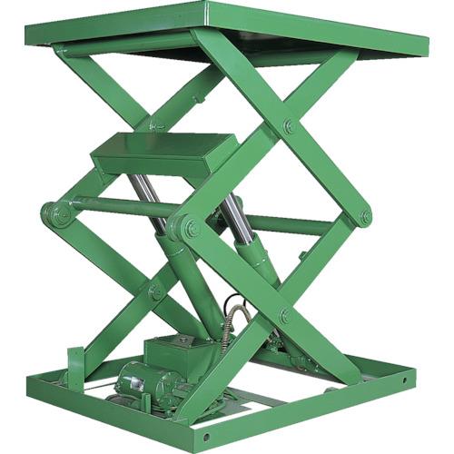 【運賃見積り】【直送品】アカシン 怪力くん 1tonシリーズ 2段 テーブル1200×2000mm 2ATL-24T
