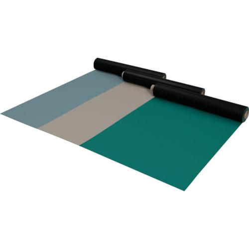 【直送品】アキレス 導電性テーブルマット PFカラーセイデンマットグリーン SKY-50-GN