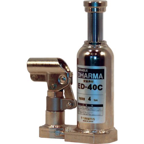 【個別送料2000円】【直送品】イーグル クリーンルームレバー回転油圧ジャッキ能力4t ED-40C