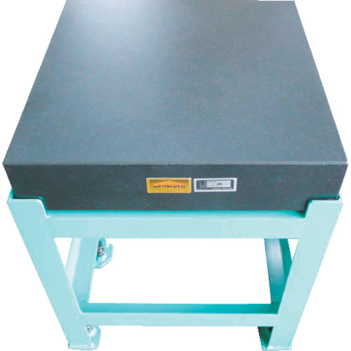 【運賃見積り】【直送品】OSS 精密石定盤 幅500×奥行750×高さ130mm 102-5075L1