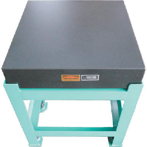 【運賃見積り】【直送品】OSS 精密石定盤 幅600×奥行600×高さ130mm 102-6060L0