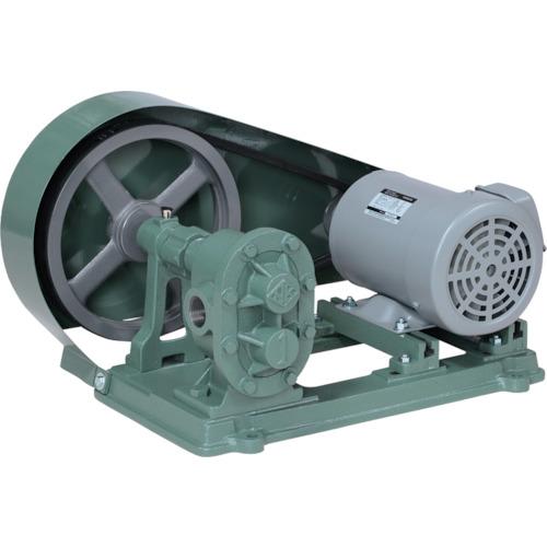 【直送品】NK ギヤーポンプ(電動機連結型)スタンドメタル台付 口径25A MES-10
