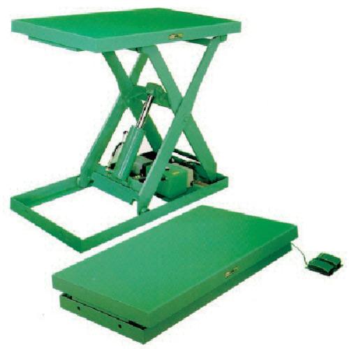 【運賃見積り】【直送品】河原 標準リフトテーブル Kシリーズ K-1008