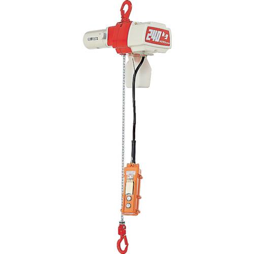 【運賃見積り】【直送品】キトー セレクト 電気チェーンブロック 2速選択 240kg(SD)x3m ED24SD