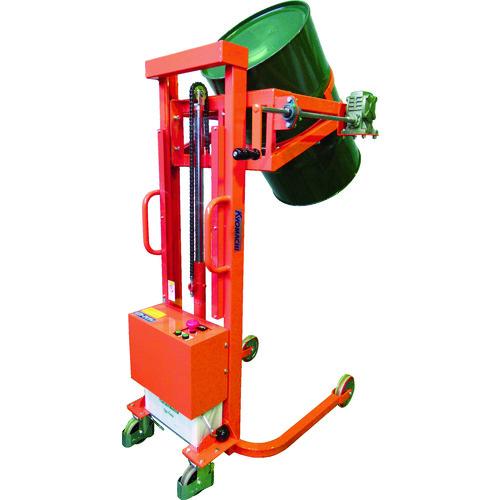 【運賃見積り】【直送品】KSK ハンドドラムリフト(電動油圧) LMDD500-24