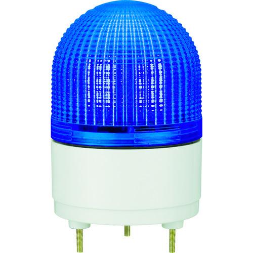 【運賃見積り】【直送品】パトライト KHE型 LED表示灯 Φ100 点滅・流動・ストロボ発光 青 KHE-24-B