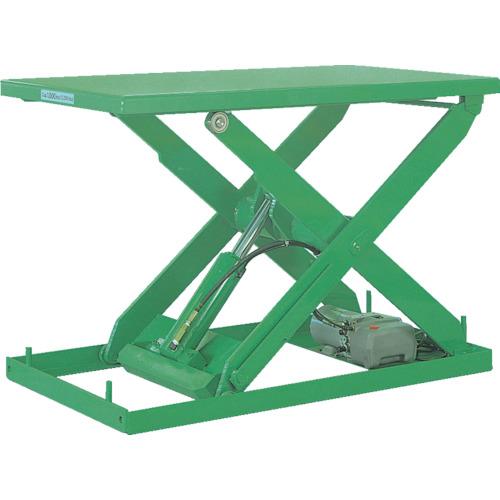【運賃見積り】【直送品】ビシャモン テーブルリフト NXシリーズ 均等荷重1000kg ストローク600mm NX100WB-B