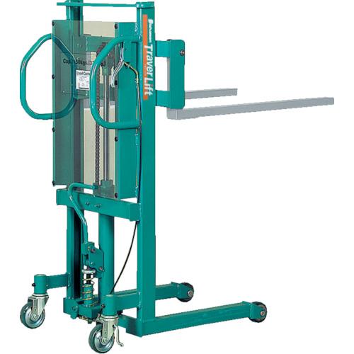 【運賃見積り】【直送品】ビシャモン トラバーリフト(手動油圧式) 均等荷重250kg STL25