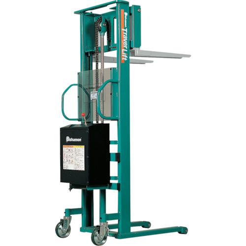 【運賃見積り】【直送品】ビシャモン トラバーリフト(バッテリー上昇式) 均等荷重500kg 充電時間 STL50E