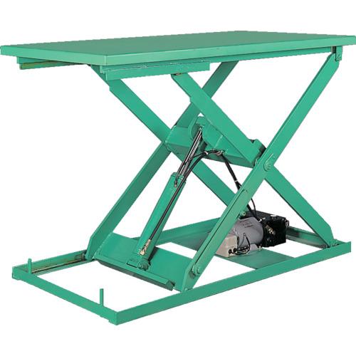 【運賃見積り】【直送品】ビシャモン テーブルリフト ミニXシリーズ 均等荷重500kg ストローク800mm X-050612B-B