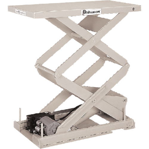 【運賃見積り】【直送品】ビシャモン テーブルリフト ちびちゃんシリーズ 均等荷重500kg ストローク630mm X-50SB-B