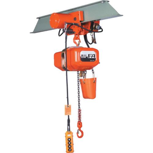 【直送品】象印 FA型電気トロリ式電気チェーンブロック0.5t・6m FAM-00560