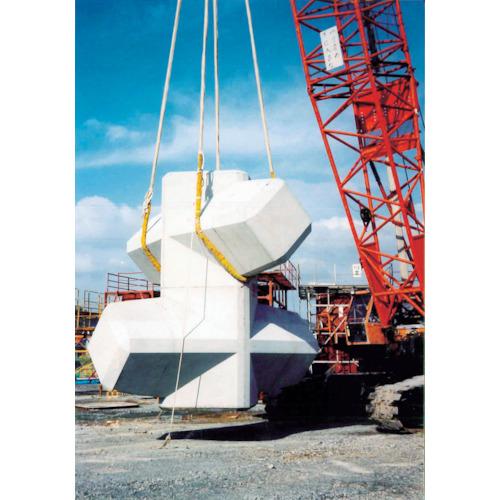 【直送品】大洋 インカ ヘビーラウンドスリング 20t×2.0m HRS-200X2