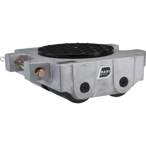 【直送品】ダイキ スピードローラーアルミダブル型ウレタン車輪10t AL-DUW-10