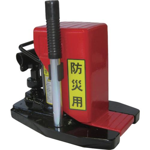 【直送品】ダイキ 防災用爪つきジャッキ 爪部5ton 低床タイプ DHTS-5E