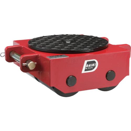 【直送品】ダイキ スピードローラ低床ダブル型ウレタン車輪10ton DUW-10S