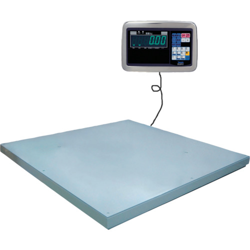 【直送品】ヤマト 超薄形デジタル台はかり PL-MLC9 600kg 1200x1200 PL-MLC9 0.6-1212