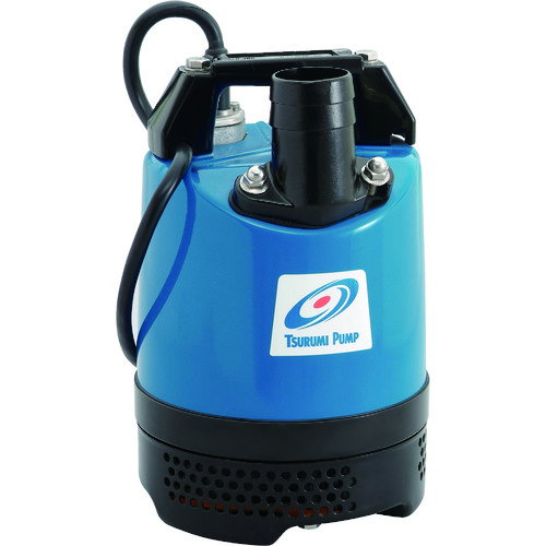 【直送品】ツルミ 一般工事排水用水中ハイスピンポンプ 60HZ 口径40mm 単相100V LB-250A 60HZ