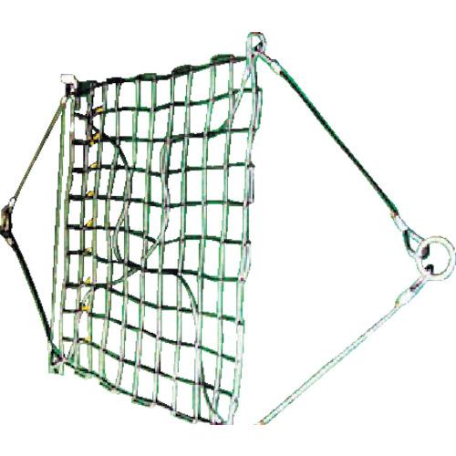 【運賃見積り】【直送品】ニッコウ ワイヤモッコ A-1 リング型 網目150mm WRMA1-1.8-150