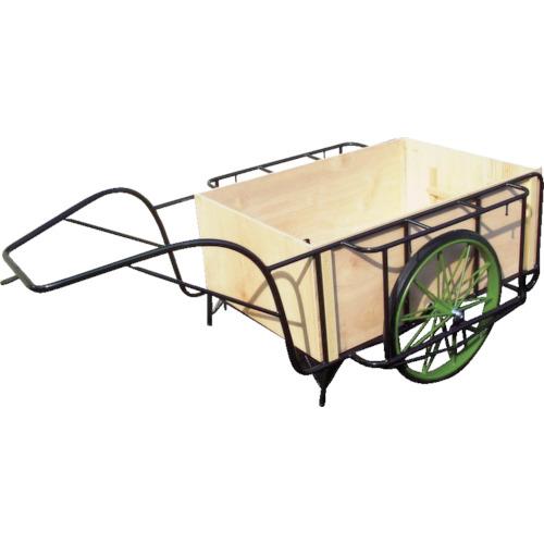 【運賃見積り】【直送品】ムラマツ リヤカー木箱付き MR-3K
