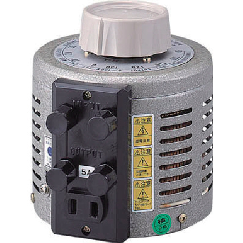【運賃見積り】【直送品】山菱 ボルトスライダー据置型 大容量タイプ 最大電流3A 入力電圧100V V-130-3