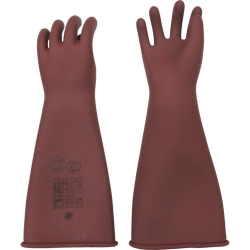 YOTSUGI 高圧ゴム手袋 455MM 中 YS-101-22-01