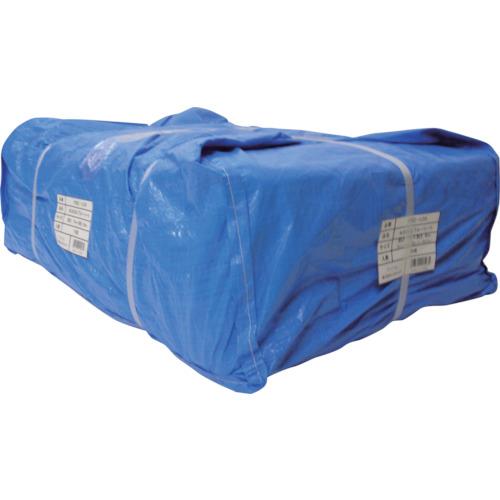 【運賃見積り】【直送品】ユタカメイク シート #3000ブルーシート大畳み 2.7m×3.6m (15枚入) PBZ-L05