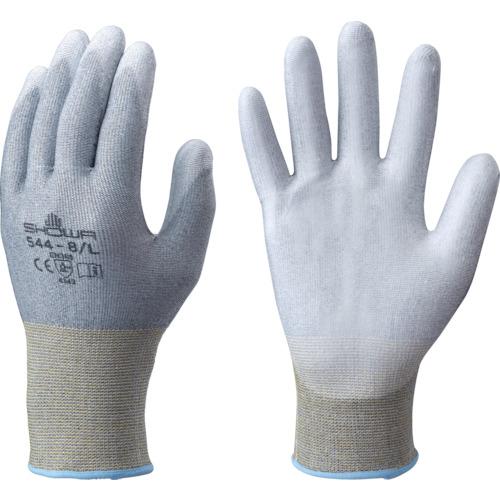 ショーワ 耐切創手袋 No544まとめ買い ケミスターパームFS No544 10双入 グレー Lサイズ NO544-10PL
