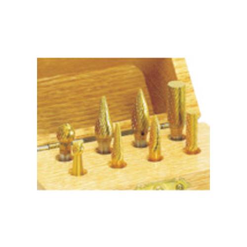 ナカニシ チタン超硬カッターセット (1S(袋)=8本入) 28115