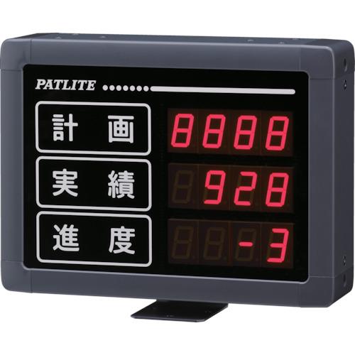 【運賃見積り】【直送品】パトライト VE型 インテリジェント生産管理表示板 VE25-304S