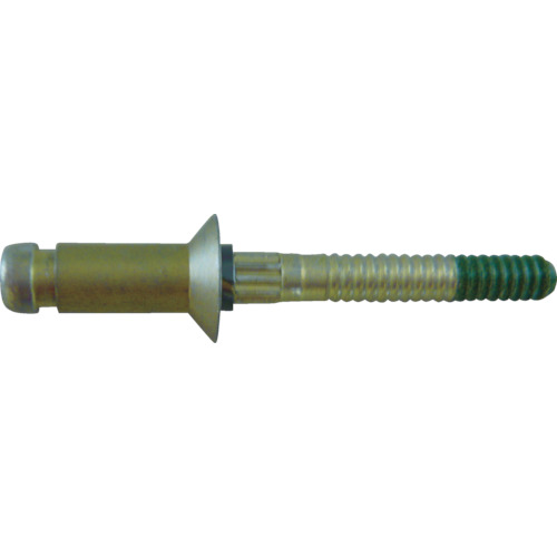 新入荷 KYS CR7310U-06-08:KanamonoYaSan Cherry t0.469~0.532インチ用 100個 HEAD/NO Maxibolt100°FLUSH -DIY・工具