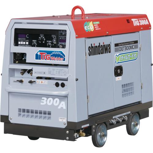 【運賃見積り】【直送品】新ダイワ エンジンTIG溶接機(オイルガード付) DGT300MC-W