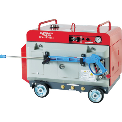 【直送品】スーパー工業 エンジン式 高圧洗浄機 SEV-1230SSi(防音型) SEV-1230SSI