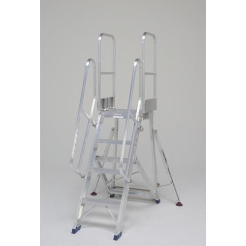 【運賃見積り】【直送品】ピカ 折りたたみ式作業台 階段両手すり天場二方 DXR-TE1