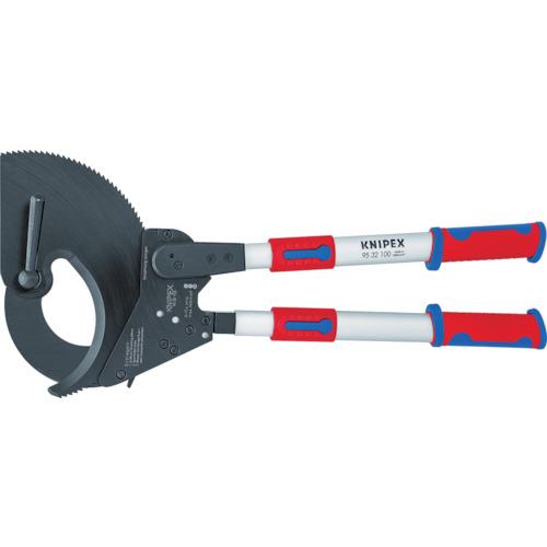KNIPEX 9532-100 ラチェット式ケーブルカッター 650mm 9532-100