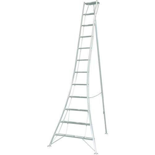 【直送品】ピカ 三脚脚立GMK型 12尺 GMK-360A
