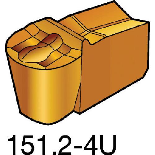 サンドビック T-Max Q-カット 突切り・溝入れチップ 525 10個 N151.2-200-20-4U:525