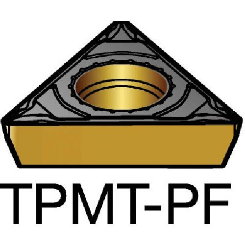 サンドビック コロターン111 旋削用ポジ・チップ 1515 10個 TPMT 11 03 04-PF:1515