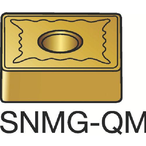 サンドビック T-Max P 旋削用ネガ・チップ 1105 10個 SNMG 12 04 12-QM:1105