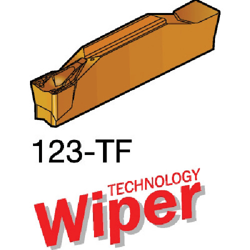 サンドビック コロカット2 突切り・溝入れチップ 1125 10個 N123K2-0600-0004-TF:1125