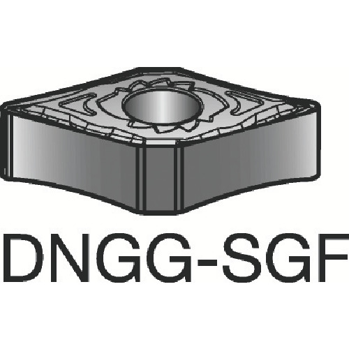 サンドビック T-Max P 旋削用ネガ・チップ 1105 10個 DNGG 15 04 04-SGF:1105