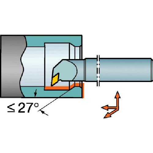 サンドビック コロターン107 ポジチップ用超硬ボーリングバイト E25T-SDUCR 11-R