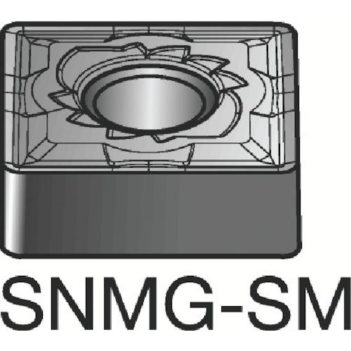 サンドビック T-Max P 旋削用ネガ・チップ 10個 SNMG 15 06 12-SM